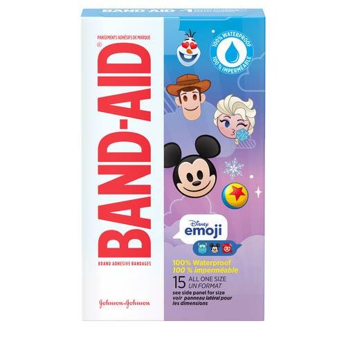 Band-Aid Emoji Waterproof Adhesive Bandages