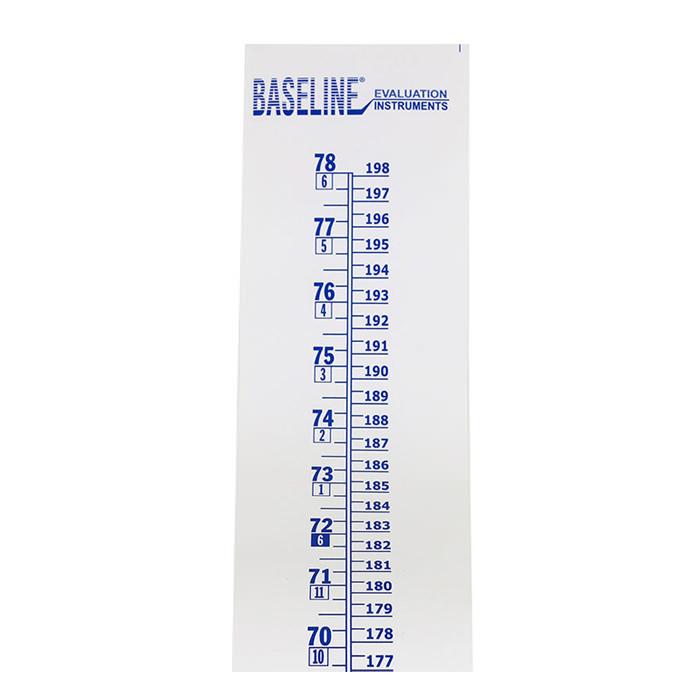 "Baseline Wall Growth Chart 0.5 lbs 4"" x 4"" x 4"""