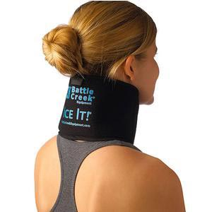 """Ice It! Deluxe Cold Therapy System for Neck/Jaw/Sinus, 4-1/2"""" x 10"""""""