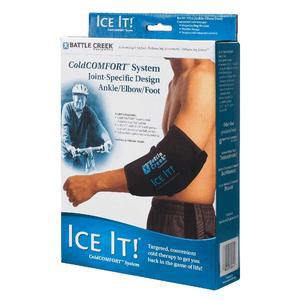 """Ice It! ColdComfort Ankle/Elbow/Foot System, 10.5"""" X 13"""""""