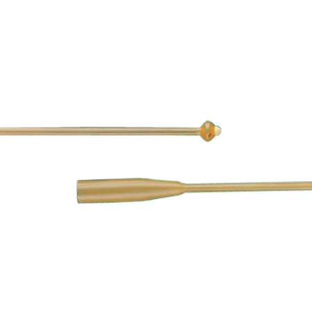 Bard Pezzer Mushroom Latex Catheter, Two Eyes, Sterile, Single-Use, Proportionate Head, 18Fr