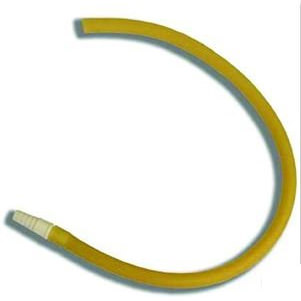 """Bard Leg Bag Extension Tubing with Connector 18"""" Latex"""