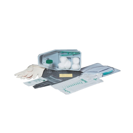 Bard Bi-Level Tray with 16Fr Plastic Catheter and Preattached 1000mL Collection Bag