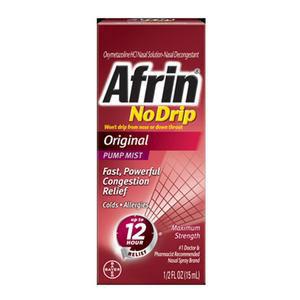 Bayer Afrin Original No Drip Nasal Spray 0.5 oz