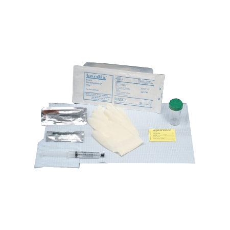 Bardia Insertion Tray with 30cc Syringe and PVI Swabs