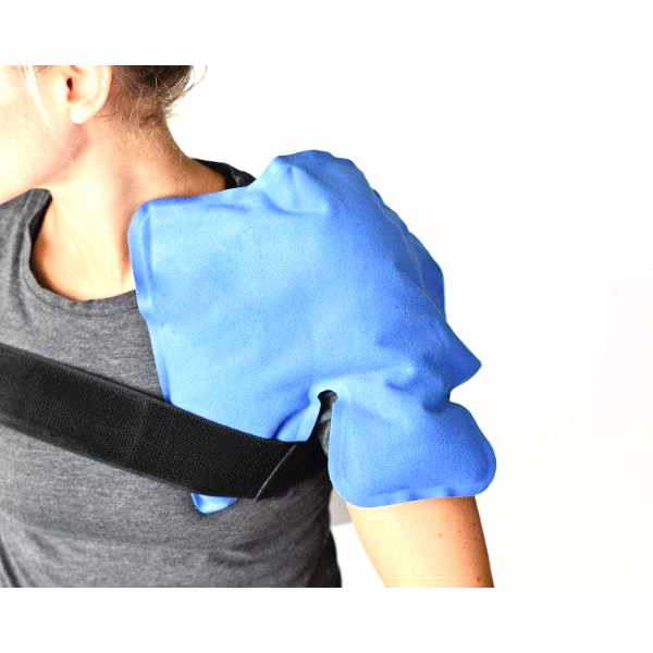 Stay-Put Cold and Hot Therapy Wrap