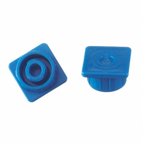 B. Braun Multi-Ad Luer Lock Syringe Cap, Blue