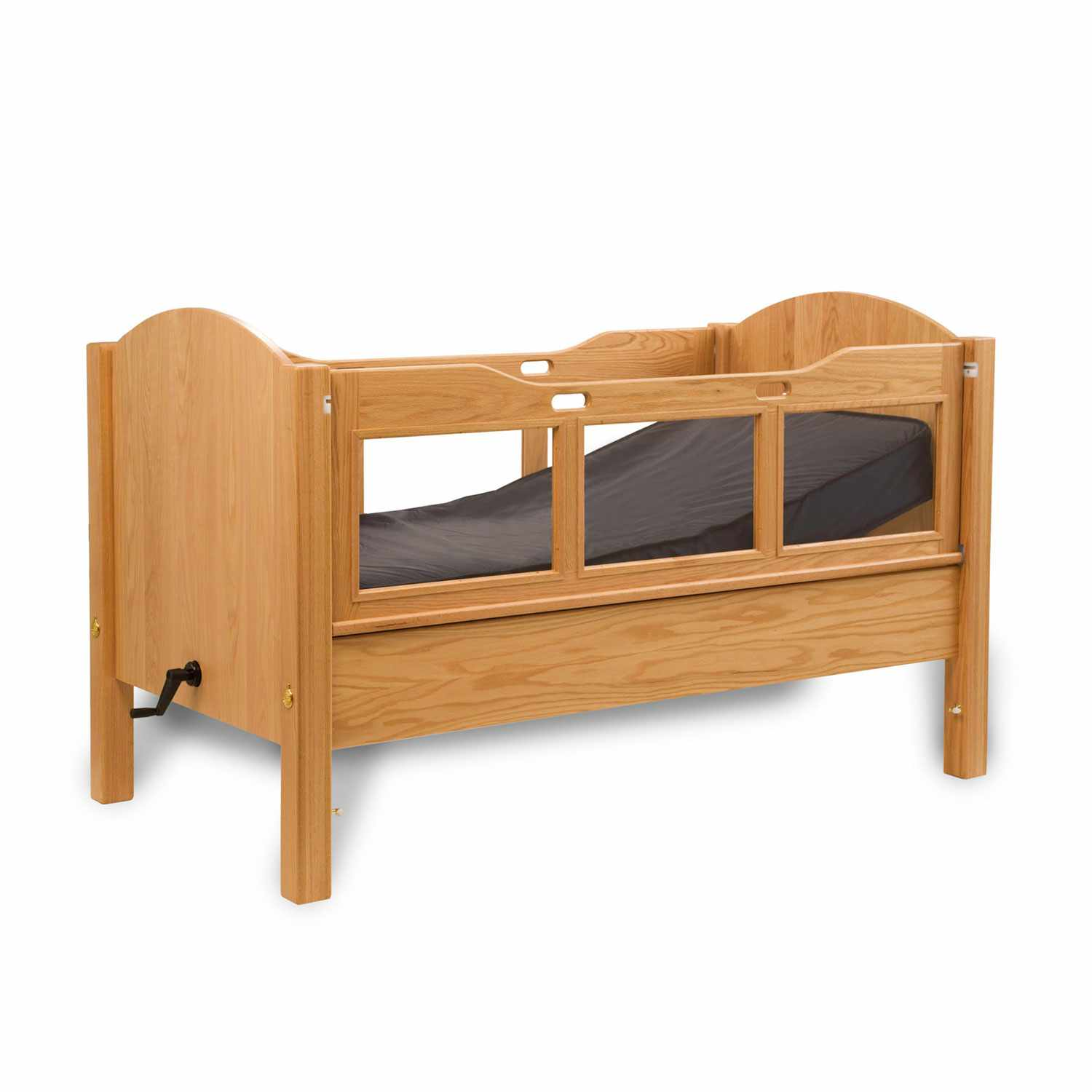 Dream series manual head adjustable double size bed