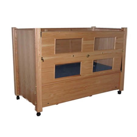 Slumber series bed with manual adjustable head and foot