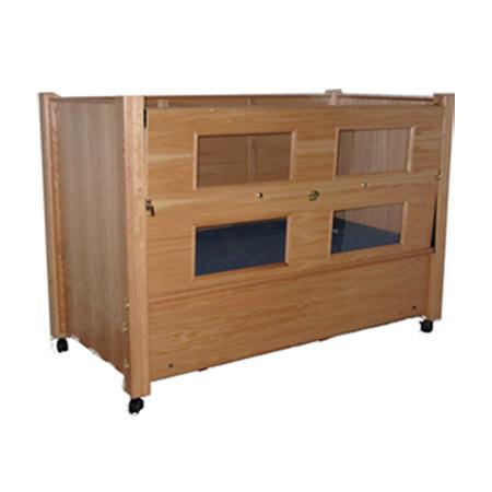 Slumber series manual adjustable twin size bed