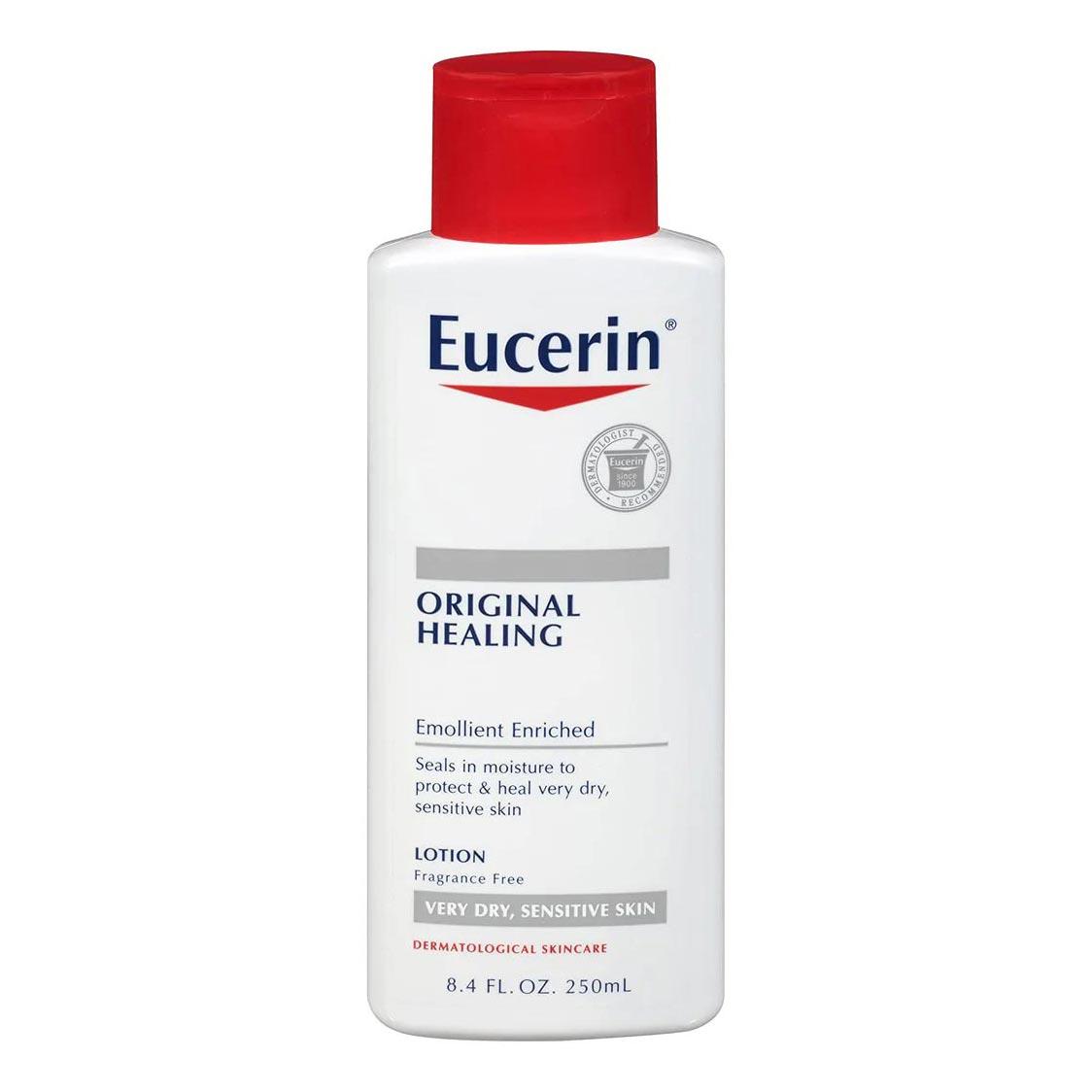 Beiersdorf Eucerin Original Healing Moisturizing Lotion, 8.4 oz
