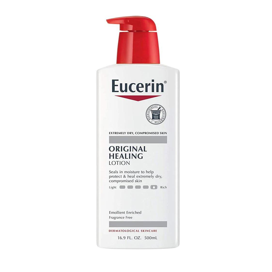 Beiersdorf Eucerin Original Healing Moisturizing Lotion, 16.9 oz