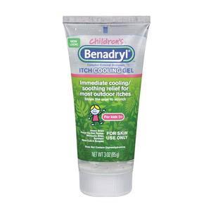 Benadryl Children's Itch Cooling Gel 3 oz
