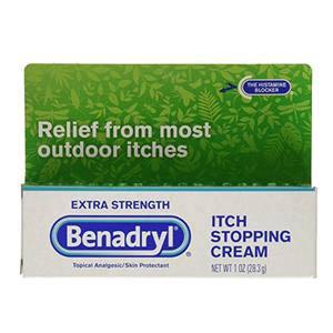 Benadryl Extra Strength Itch Stopping Cream 1 oz