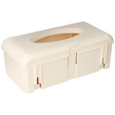 BD Plastic Glove Box Holder Ivory
