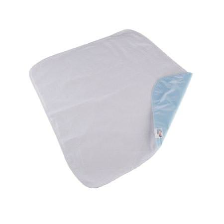 Beck's Moderate Absorbency Reusable Vinyl Backing Underpad, Blue