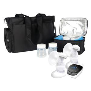 BelleMa Plethora Double Electric Breast Pump with Tote Bag and Cooler Pack
