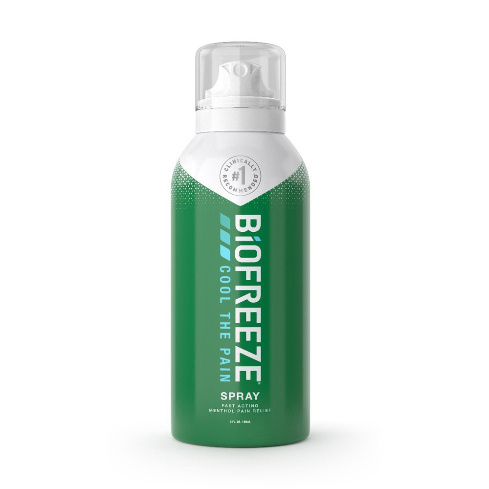 Biofreeze Classic Pain Relieving 360 Degree Spray 3 Oz.