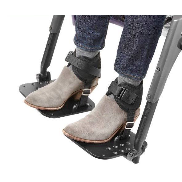 Ankle huggers with side release buckle