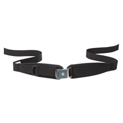 Bodypoint center-pull two point padded hip belt with push button buckle - bariatric