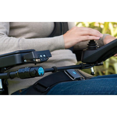 Bodypoint Midline joystick mounting kit on power chair