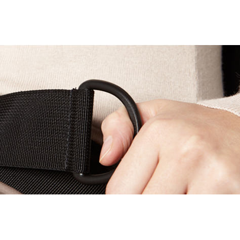 Bodypoint two point non-padded hip belt with push button buckle - Webbing