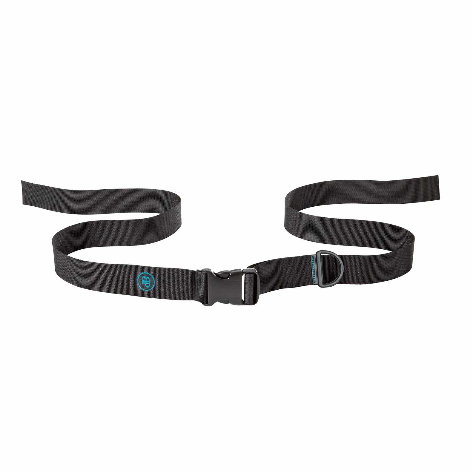 Bodypoint center-pull two point non-padded hip belt with side release buckle