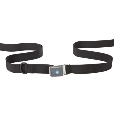 Bodypoint center pull two point non padded hip belt with Rehab Latch Buckle