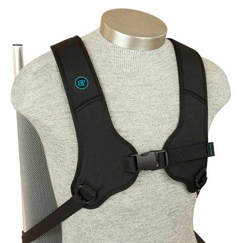 Bodypoint H-style rear-pull shoulder harness