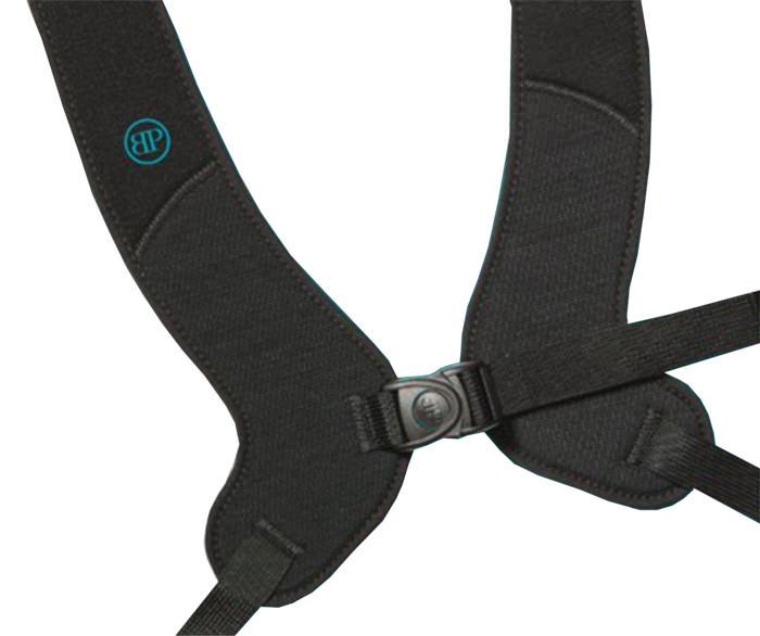 Bodypoint PivotFit standard front-pull shoulder harness with adjustable length top straps