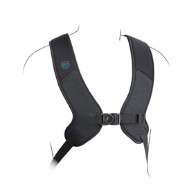 Bodypoint PivotFit dynamic rear-pull shoulder harness