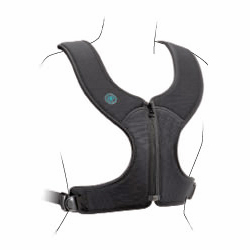 Bodypoint Stayflex standard rear-pull zippered chest support