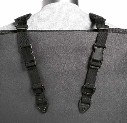 Stayflex rear-pull zippered chest support