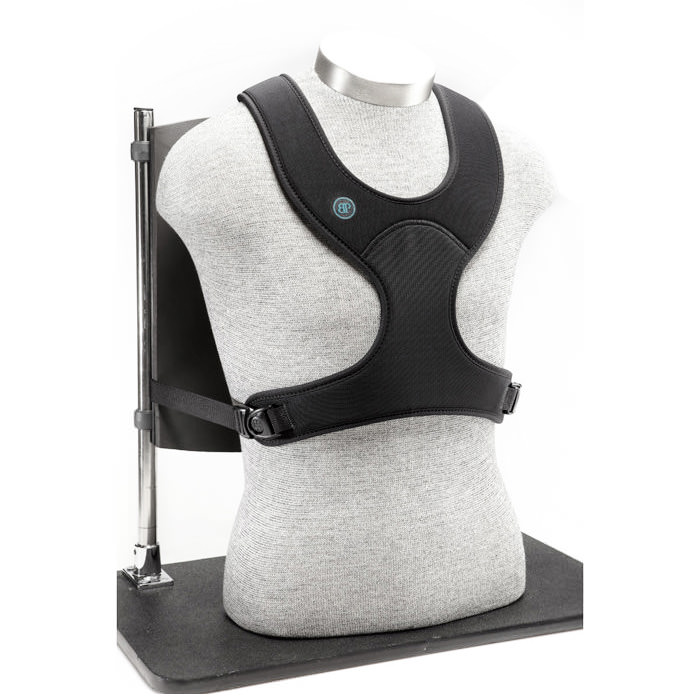 Bodypoint Stayflex narrow front-pull chest support with adjustable length top straps