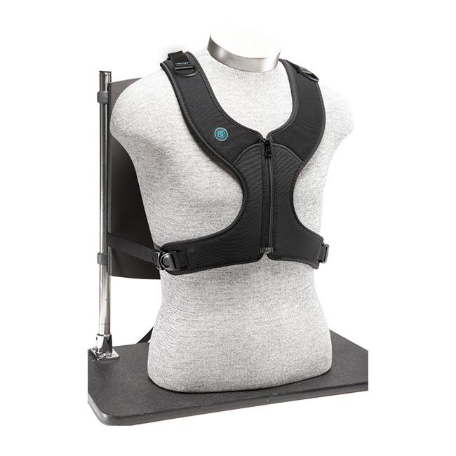 Bodypoint Stayflex narrow zippered chest support