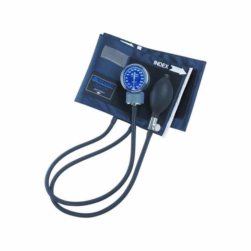 """Mabis Child Signature Aneroid Sphygmomanometers with Blue Nylon Cuff, 4-3/10"""" W x 13-9/10"""" L"""