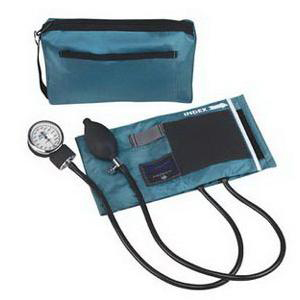 Mabis MatchMates Aneroid Sphygmomanometers Kit, Teal