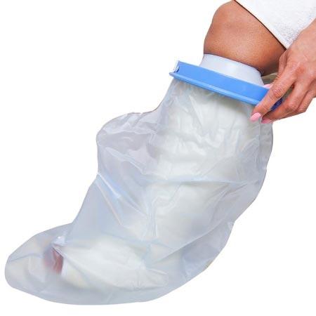 Seal-Tight Leg Cast Protector, Medium / Short, Polyvinyl