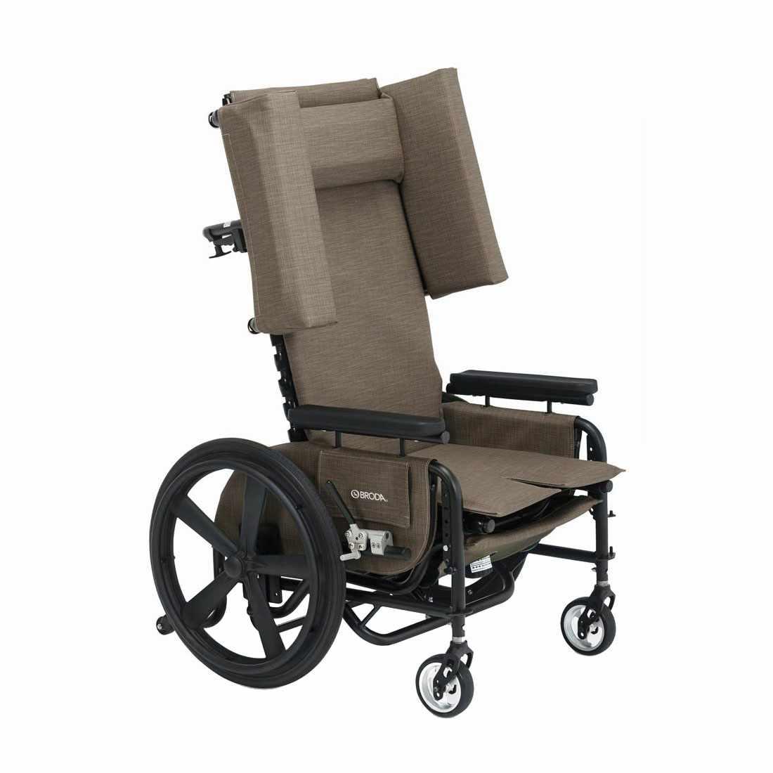 Broda 48R Latitude Pedal Rocker Self Propelling Geri Chair