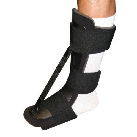 Brownmed Nice Stretch Dorsal Anterior Heel Night Splint, For Left or Right Foot
