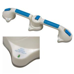 DMI Suction Cup Grab Bar with 180° Swivel Action, 19-1/4 Inch L