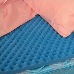 Briggs DMI Convoluted (Eggcrate) Bed Pad, Queen, 56 Inch x 78 Inch x 2 Inch