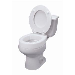 "DMI Hinged Elevated Toilet Seat, Standard, 4"""