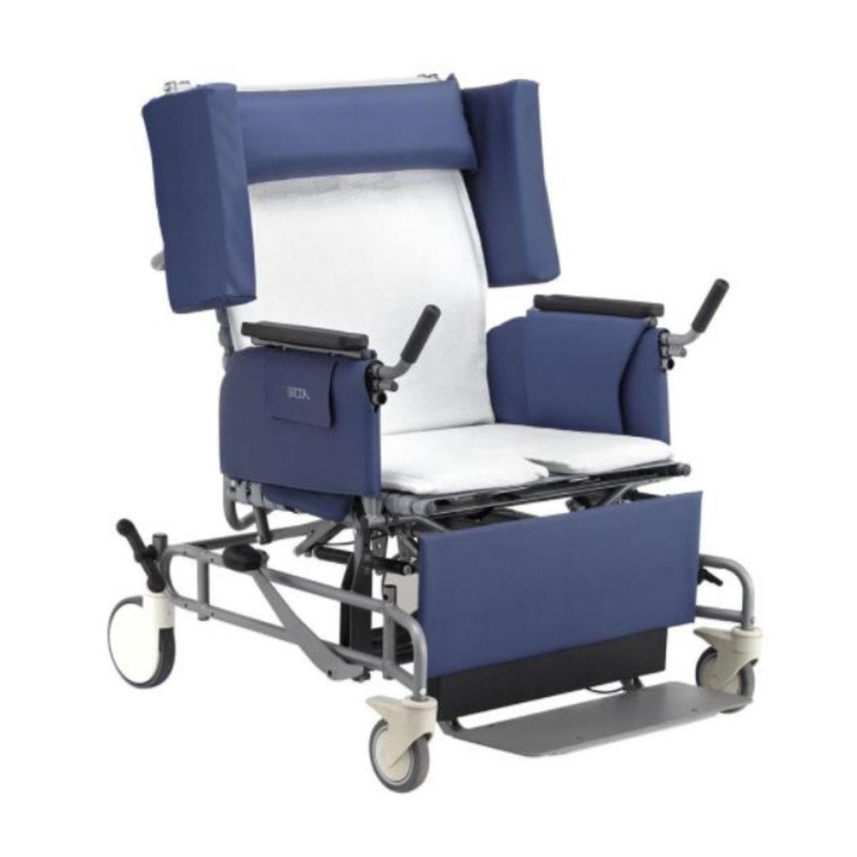 Broda elite vanguard bariatric tilt recliner chair, model 985