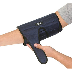 IMAK RSI Elbow Support Dual Hook and Loop Strap Closures Left / Right Elbow Universal