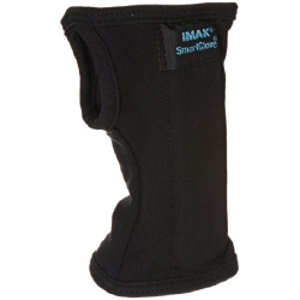 IMAK SmartGlove Wrist Splint Hand Black Cotton Wrist Medium