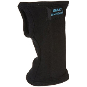 IMAK SmartGlove Wrist Splint Cotton Black Large