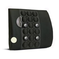 "IMAK Ergo Back Lumbar Support Cushion Black 13.5"" X 13.8"" X 4"" Foam"