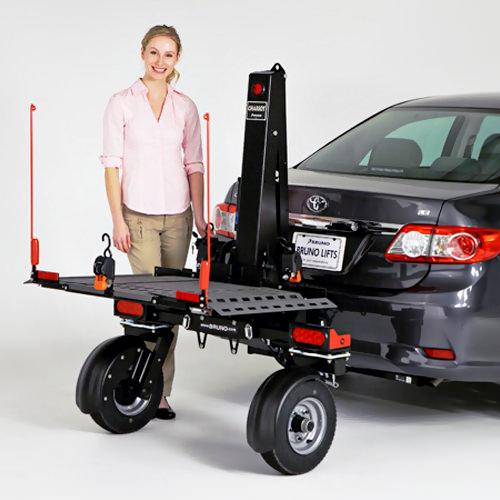 Bruno ASL-700 Chariot folding platform vehicle lift