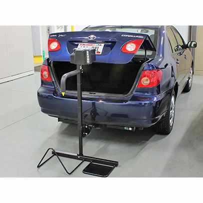 Back-Saver Hitch-mounted wheelchair lift